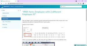 OpensoftHR-Customer-Service-Portal-Answer-Page