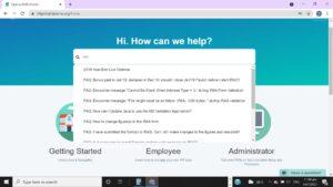 OpensoftHR-Customer-Service-Portal-Search